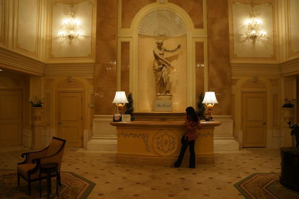 The Grand Spa Lobby