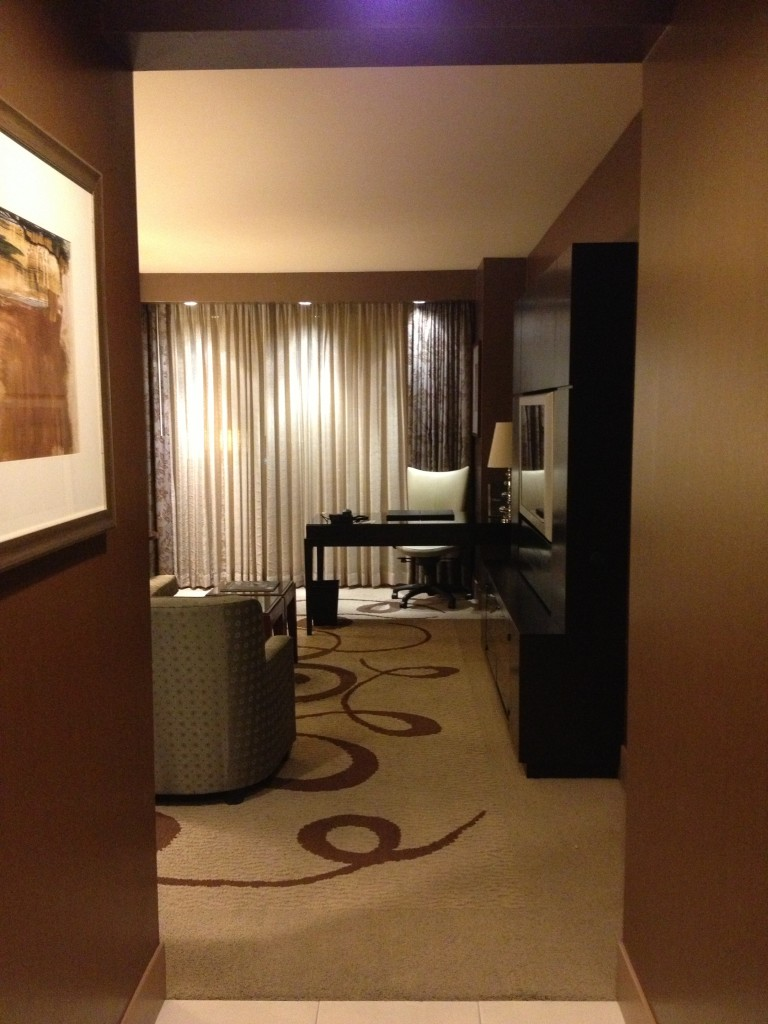 The entryway to my room. I can already tell it's a big room!