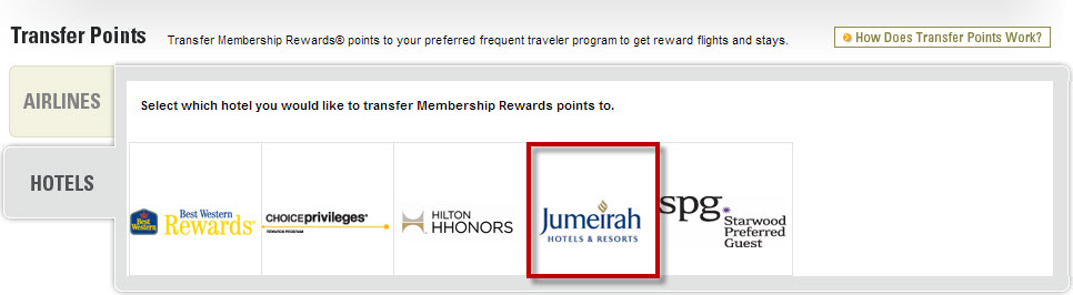 The one that most people ignore most is Jumeirah's program!