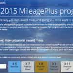 2015 UA MileagePlus Program.