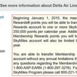Delta Transfer Limit
