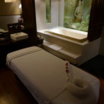 Thai Airways Royal Orchid Spa in Bangkok.